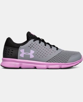 Girls' Grade School UA Micro G® Rave Running Shoes LIMITED TIME OFFER 2 Colors $41.24