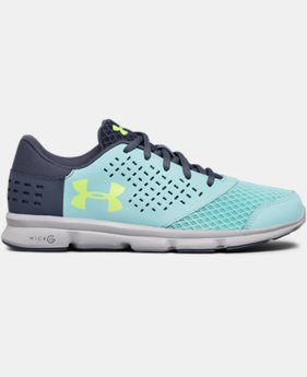 Best Seller Girls' Grade School UA Micro G® Rave Running Shoes  1 Color $54.99