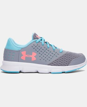 Best Seller Girls' Pre-School UA Rave Running Shoes  1 Color $47.99