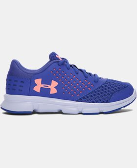 Girls' Pre-School UA Rave Running Shoes LIMITED TIME OFFER  $35.99