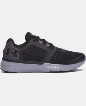 Boys' Grade School UA Micro G® Fuel Running Shoes  4 Colors $64.99