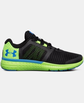 Boys' Grade School UA Micro G® Fuel Running Shoes LIMITED TIME OFFER 2 Colors $59.99