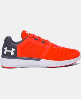 New to Outlet Boys' Grade School UA Micro G® Fuel Running Shoes LIMITED TIME OFFER 1 Color $48.74