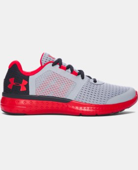 New Arrival  Boys' Grade School UA Micro G® Fuel Running Shoes  1 Color $79.99