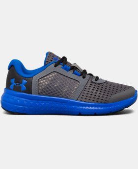Boys' Pre-School UA Micro G® Fuel Running Shoes LIMITED TIME OFFER 1 Color $43.49