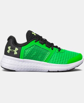 Boys' Pre-School UA Micro G® Fuel Running Shoes  4 Colors $43.49