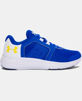 Boys' Pre-School UA Micro G® Fuel Running Shoes LIMITED TIME OFFER  $43.49