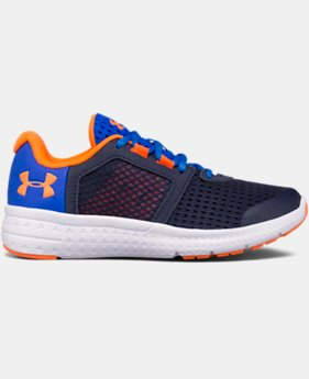Boys' Pre-School UA Micro G® Fuel Running Shoes  4 Colors $57.99
