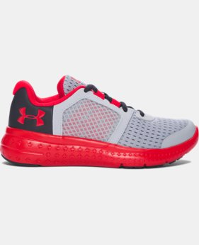 Boys' Pre-School UA Micro G® Fuel Running Shoes  2 Colors $57.99