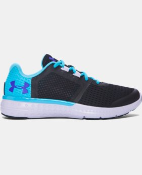 Girls' Grade School UA Micro G® Fuel Running Shoes LIMITED TIME OFFER 1 Color $48.74