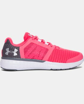 Girls' Grade School UA Micro G® Fuel Running Shoes LIMITED TIME OFFER  $48.74