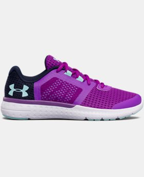 Best Seller Girls' Grade School UA Micro G® Fuel Running Shoes  2 Colors $64.99