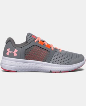 Best Seller Girls' Pre-School UA Micro G® Fuel Running Shoes  2 Colors $57.99