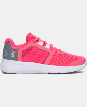 Girls' Pre-School UA Micro G® Fuel Running Shoes LIMITED TIME OFFER 1 Color $43.49