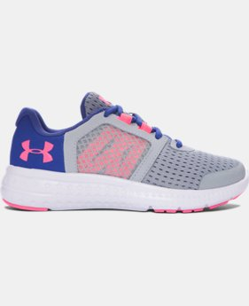 Girls' Pre-School UA Micro G® Fuel Running Shoes  1 Color $57.99