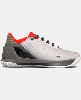 Boys' Grade School UA Curry 3 Low Basketball Shoes   $74.99 to $94.99