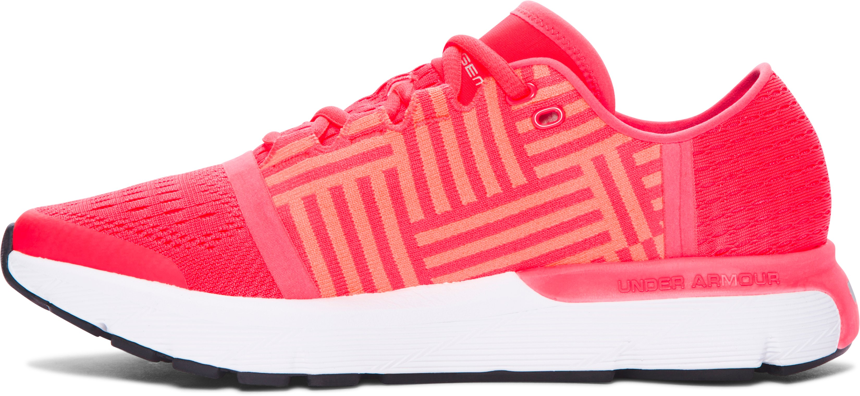 Women's UA SpeedForm® Gemini 3 Running Shoes, SIRENS CORAL,