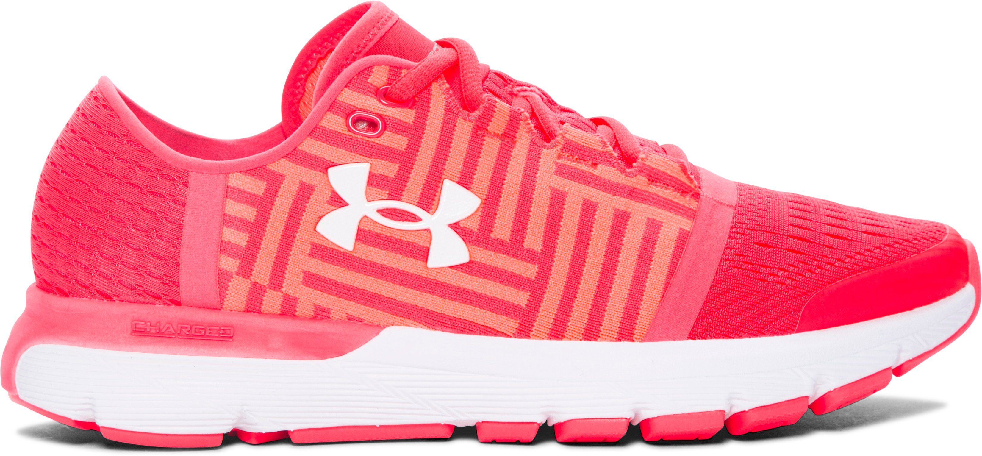 Women's UA SpeedForm® Gemini 3 Running Shoes, SIRENS CORAL