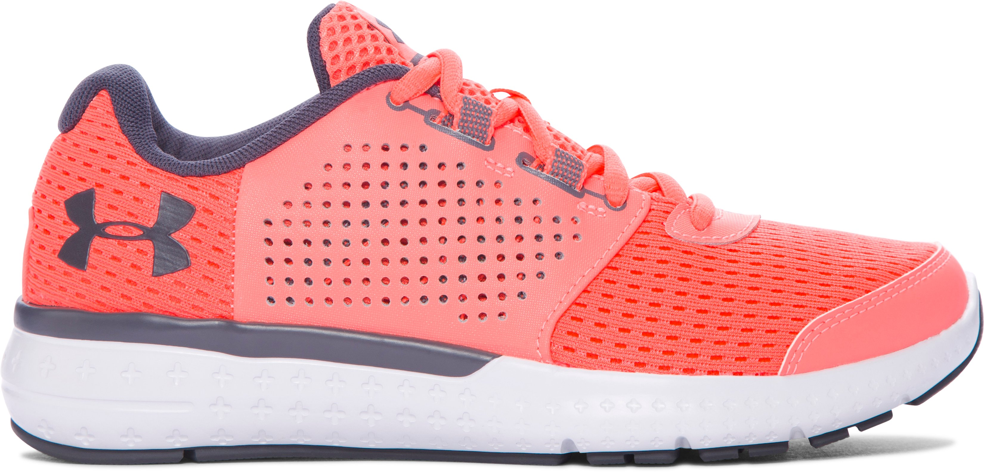 Women's UA Micro G® Fuel Running Shoes, LONDON ORANGE, zoomed image
