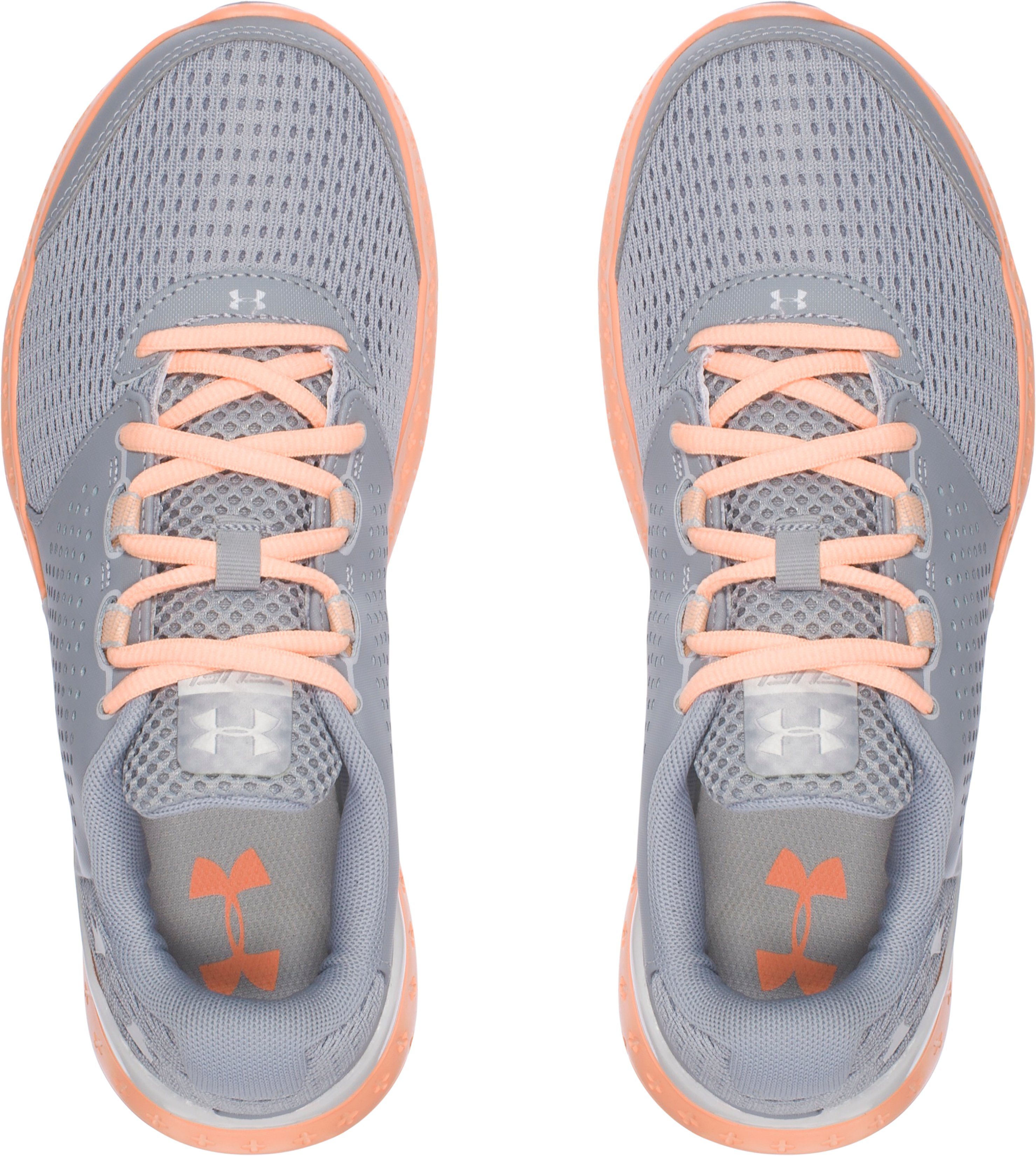 Women's UA Micro G® Fuel Running Shoes, OVERCAST GRAY,