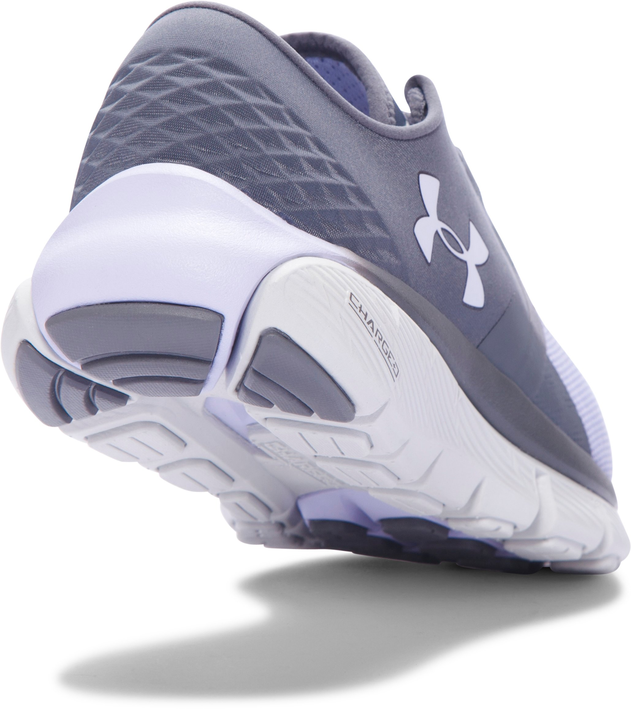 Women's UA SpeedForm® Fortis 2.1 Running Shoes, RHINO GRAY,