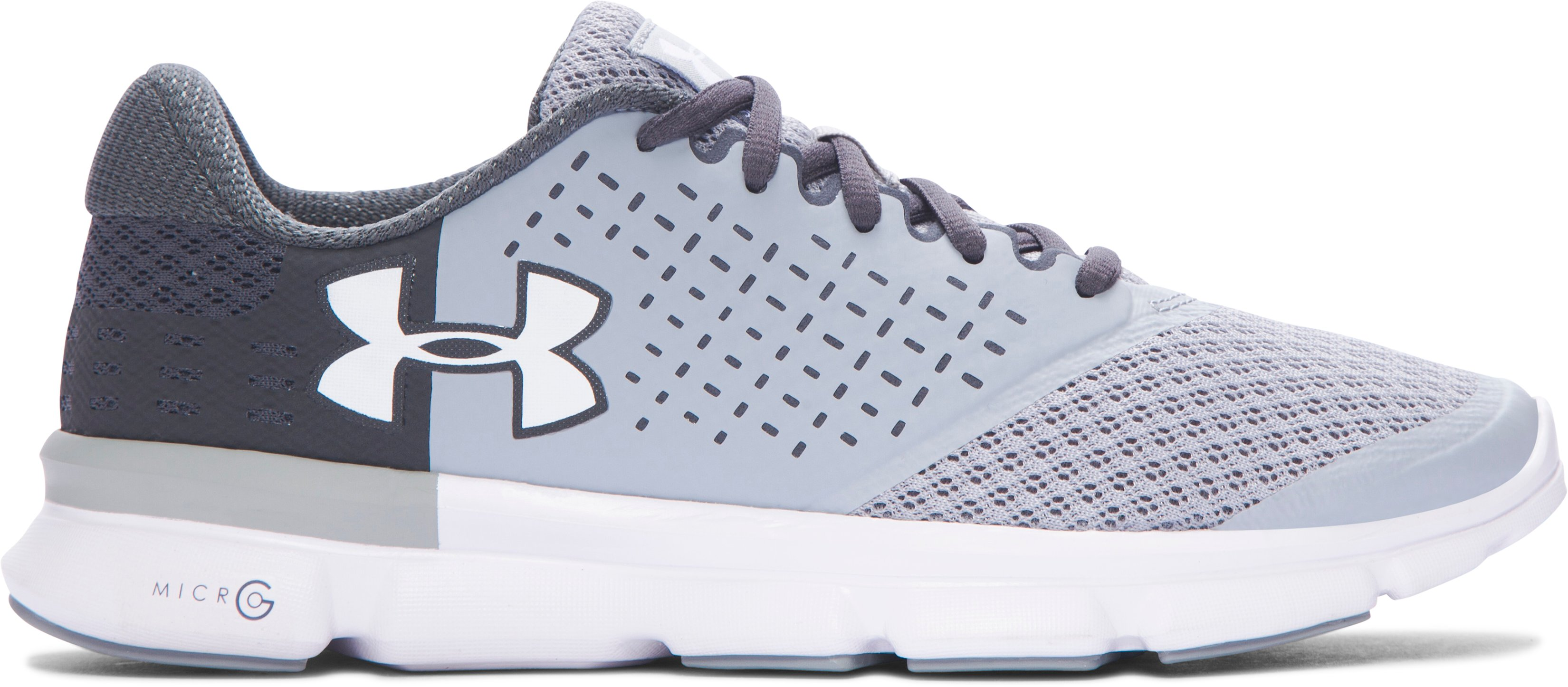 Women's UA Speed Swift 2 Running Shoes, OVERCAST GRAY