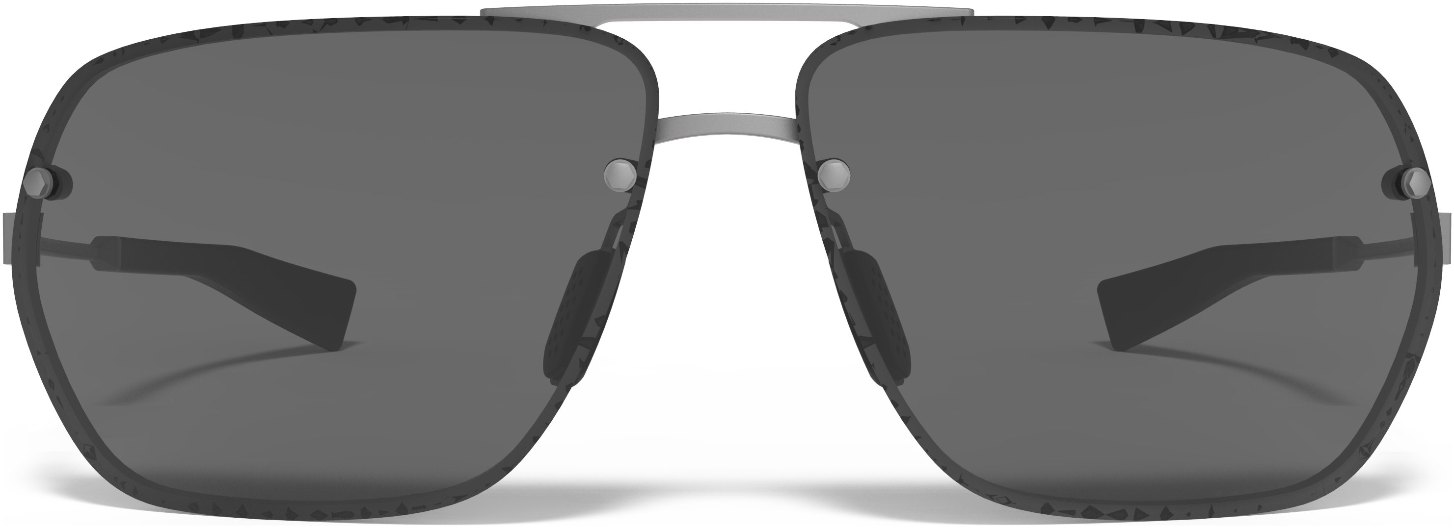 UA Hi-Roll Sunglasses, SATIN GUNMETAL, undefined