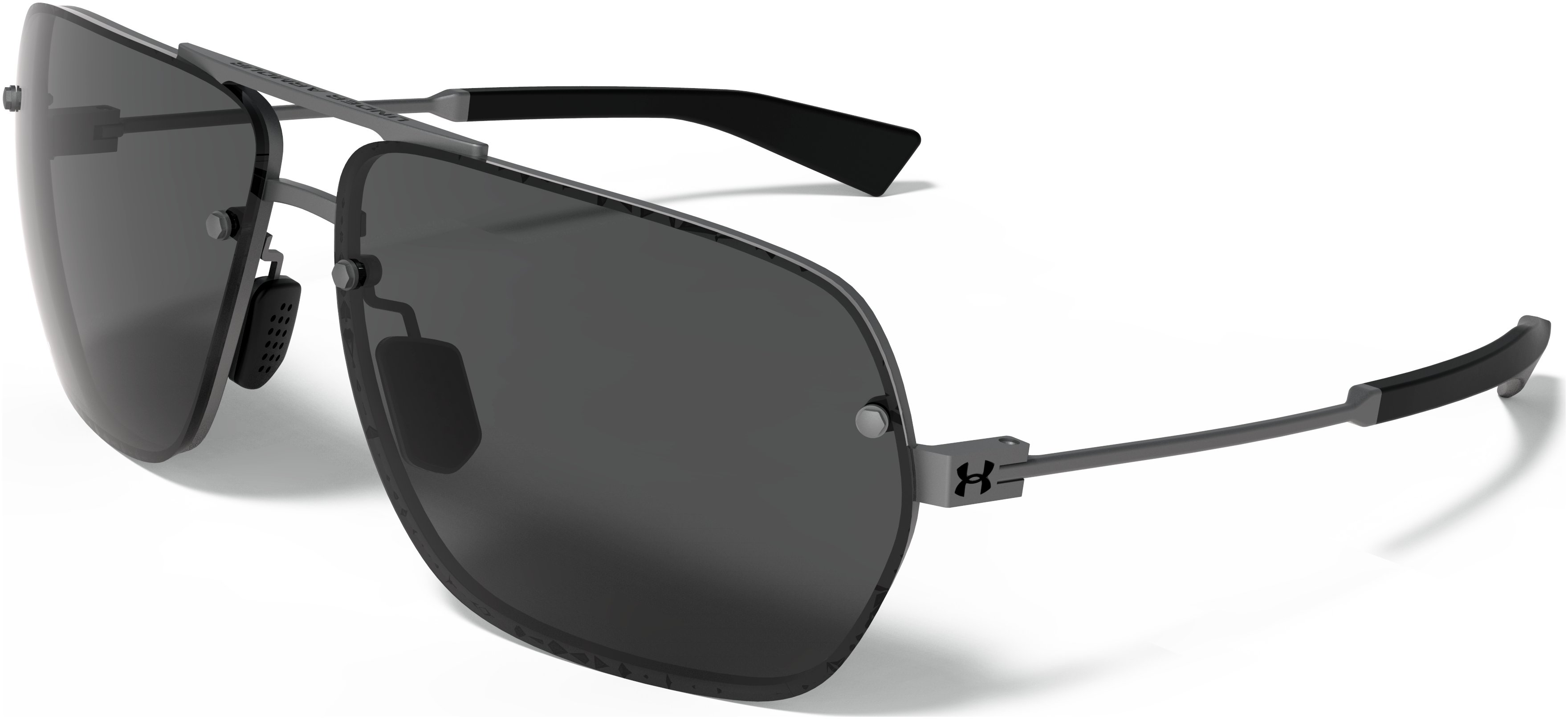 UA Hi-Roll Sunglasses, SATIN GUNMETAL