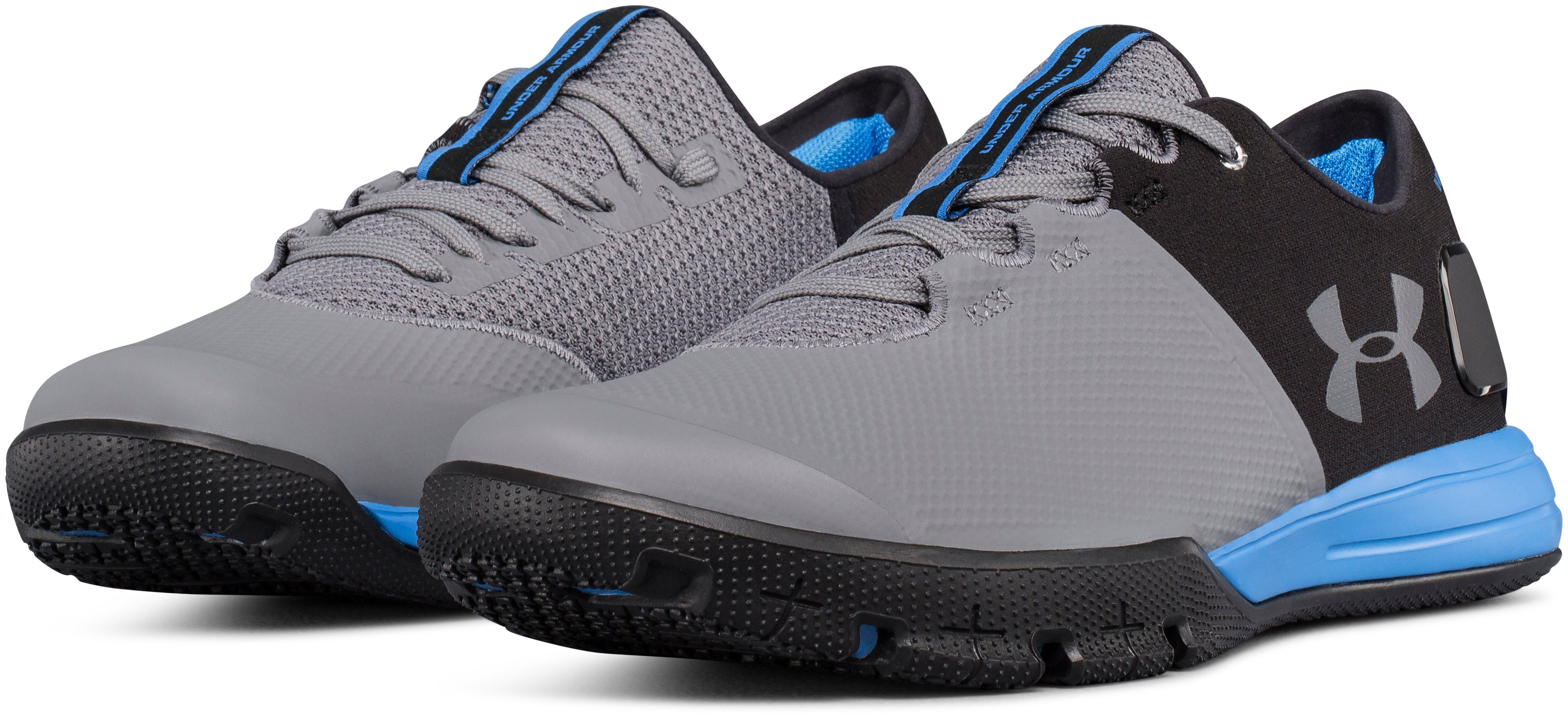 Men's UA Charged Ultimate 2.0 Training Shoes, Black , undefined
