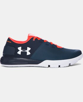 Best Seller Men's UA Charged Ultimate 2.0 Training Shoes  5 Colors $74.99