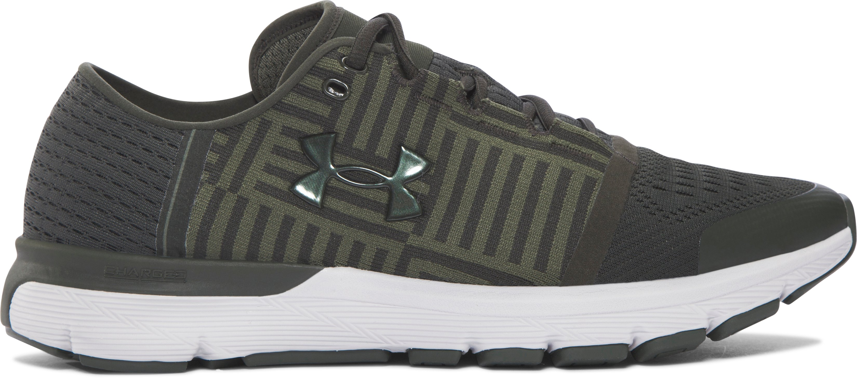 Men's UA SpeedForm® Gemini 3 Running Shoes, Artillery Green,