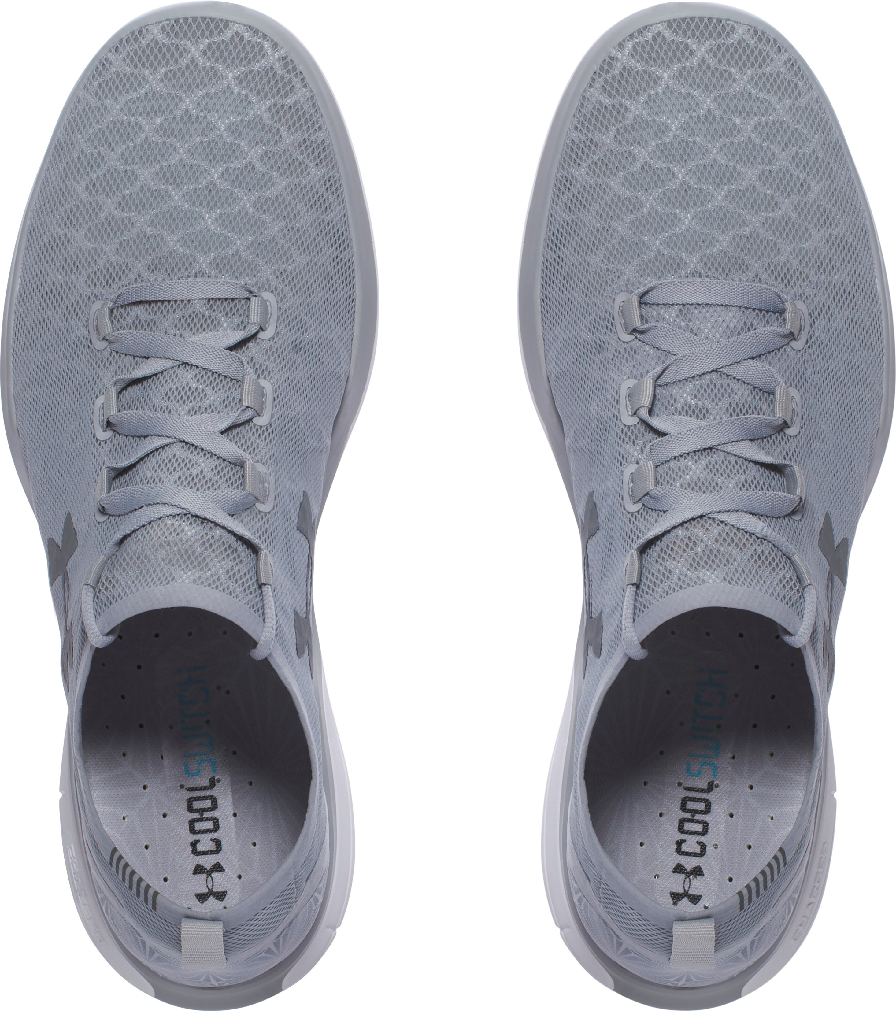 Men's UA Charged CoolSwitch Running Shoes, OVERCAST GRAY,