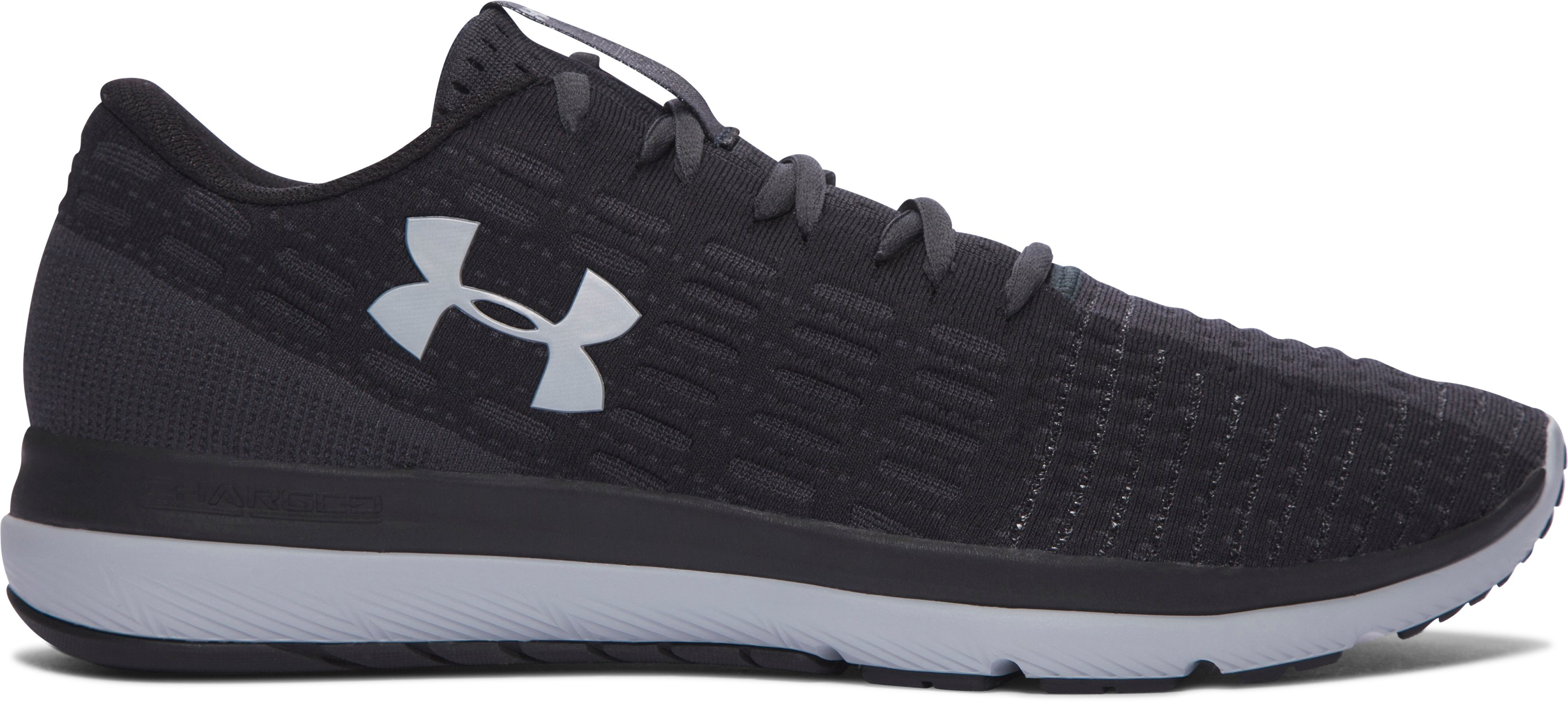 Men's UA Threadborne Slingflex Shoes, Black , zoomed image
