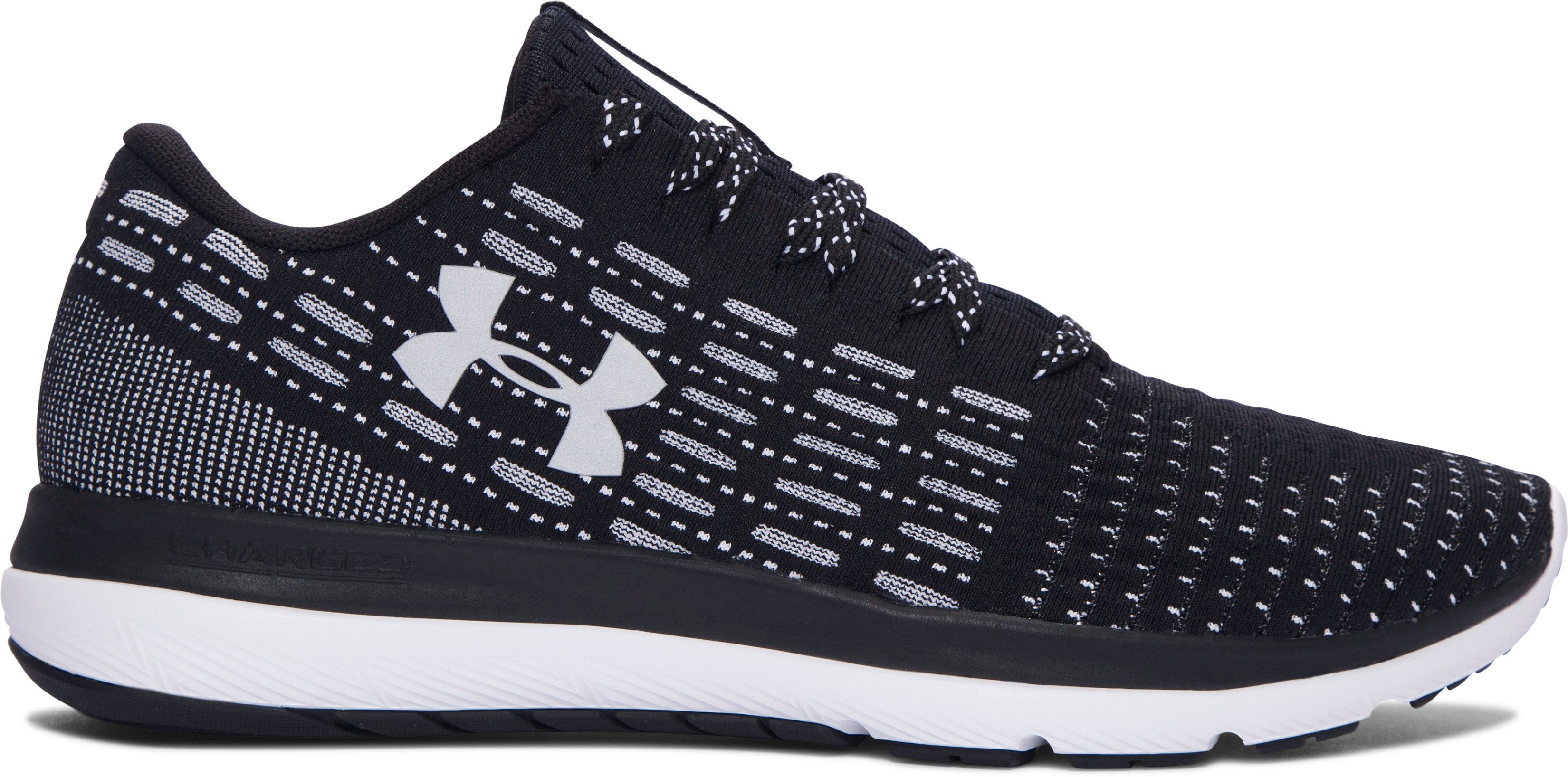 Men's UA Threadborne Slingflex Shoes, Black , undefined
