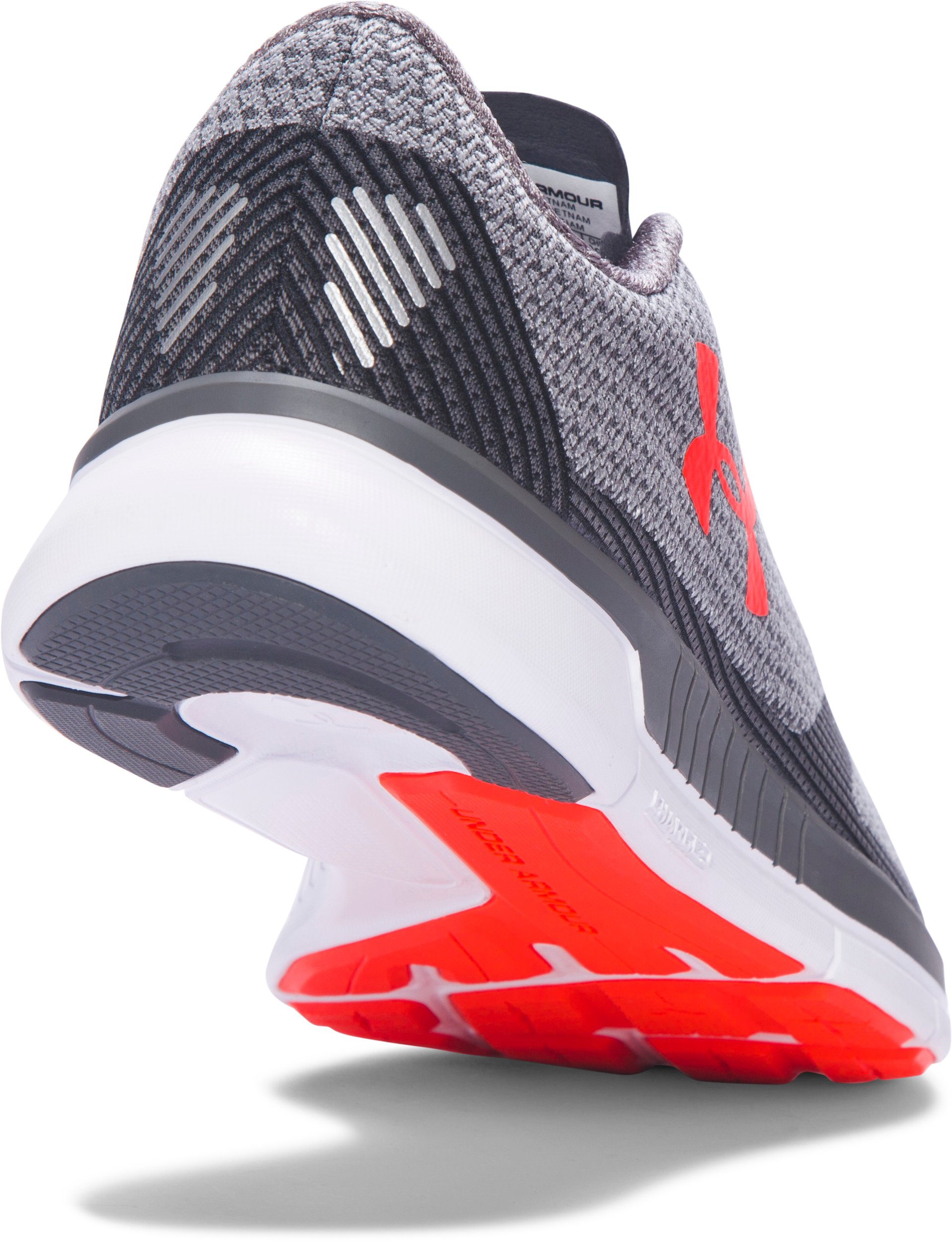 Men's UA Charged Lightning Running Shoes, RHINO GRAY, undefined