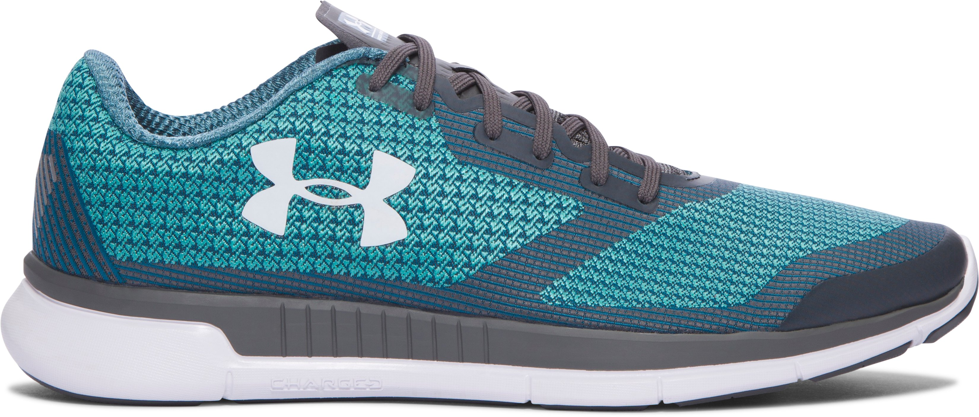 Men's UA Charged Lightning Running Shoes, NEPTUNE