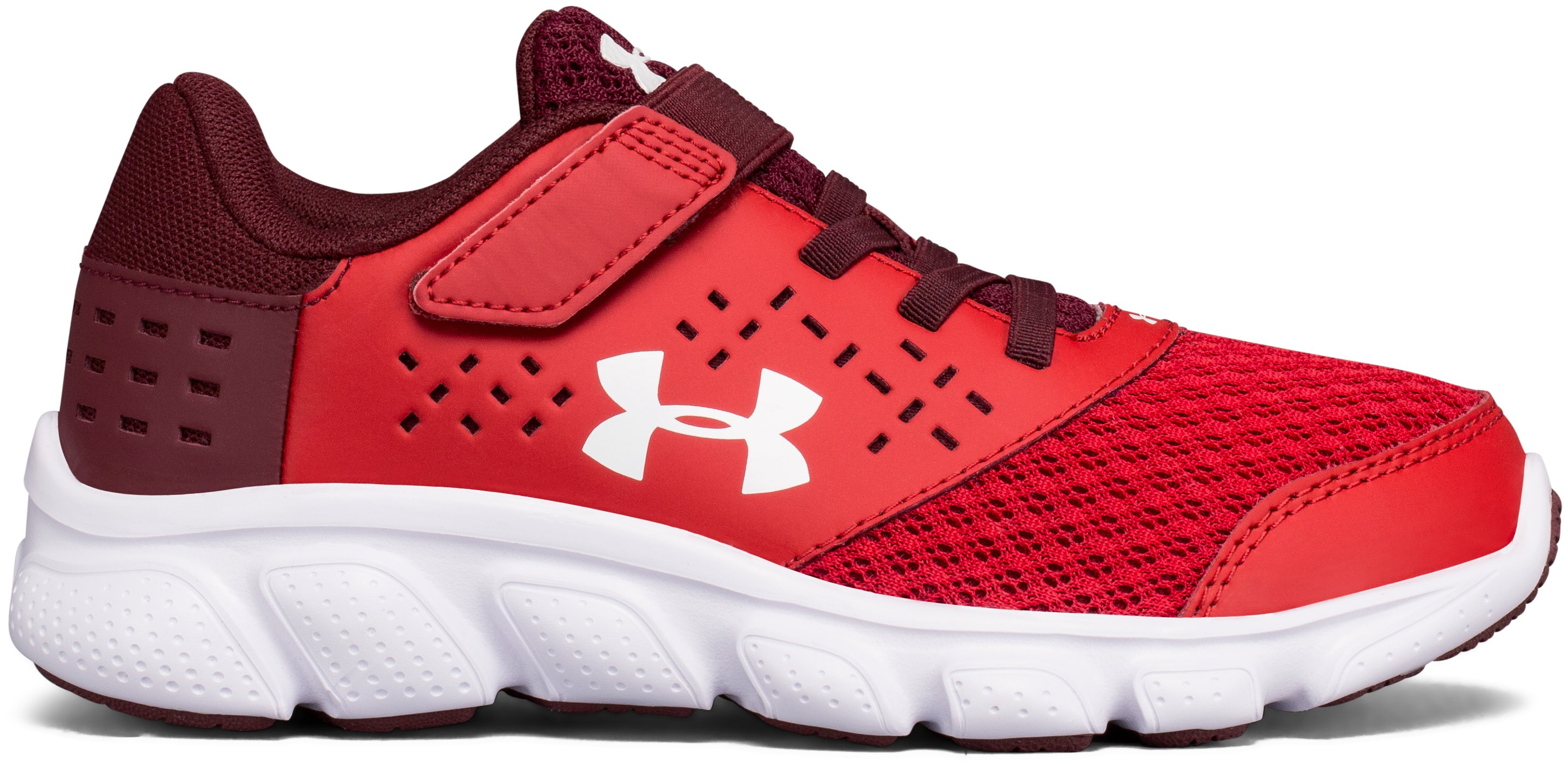 Boys' Pre-School UA Micro G® Rave Adjustable Closure Running Shoes 1 Color $35.99