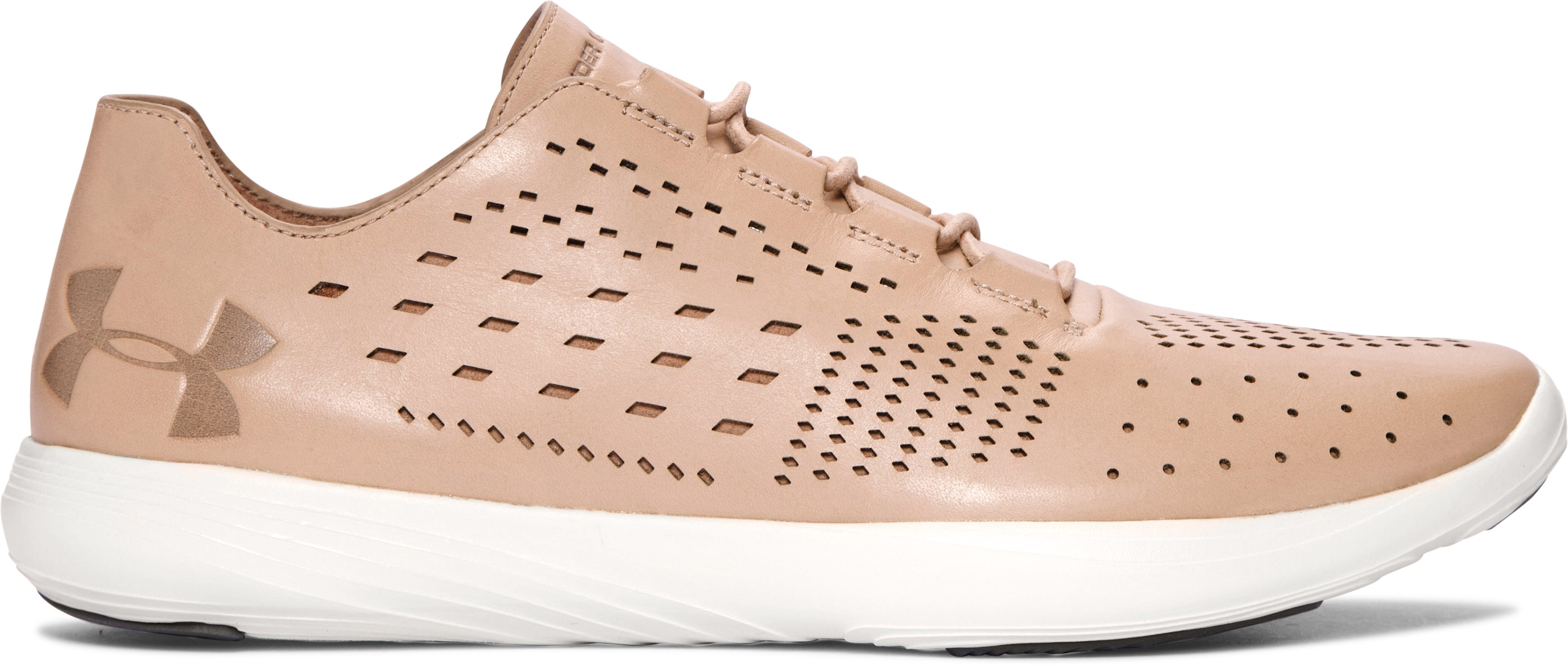 Women's UA Precision Low Lifestyle Shoes, CORAL SANDS, zoomed image