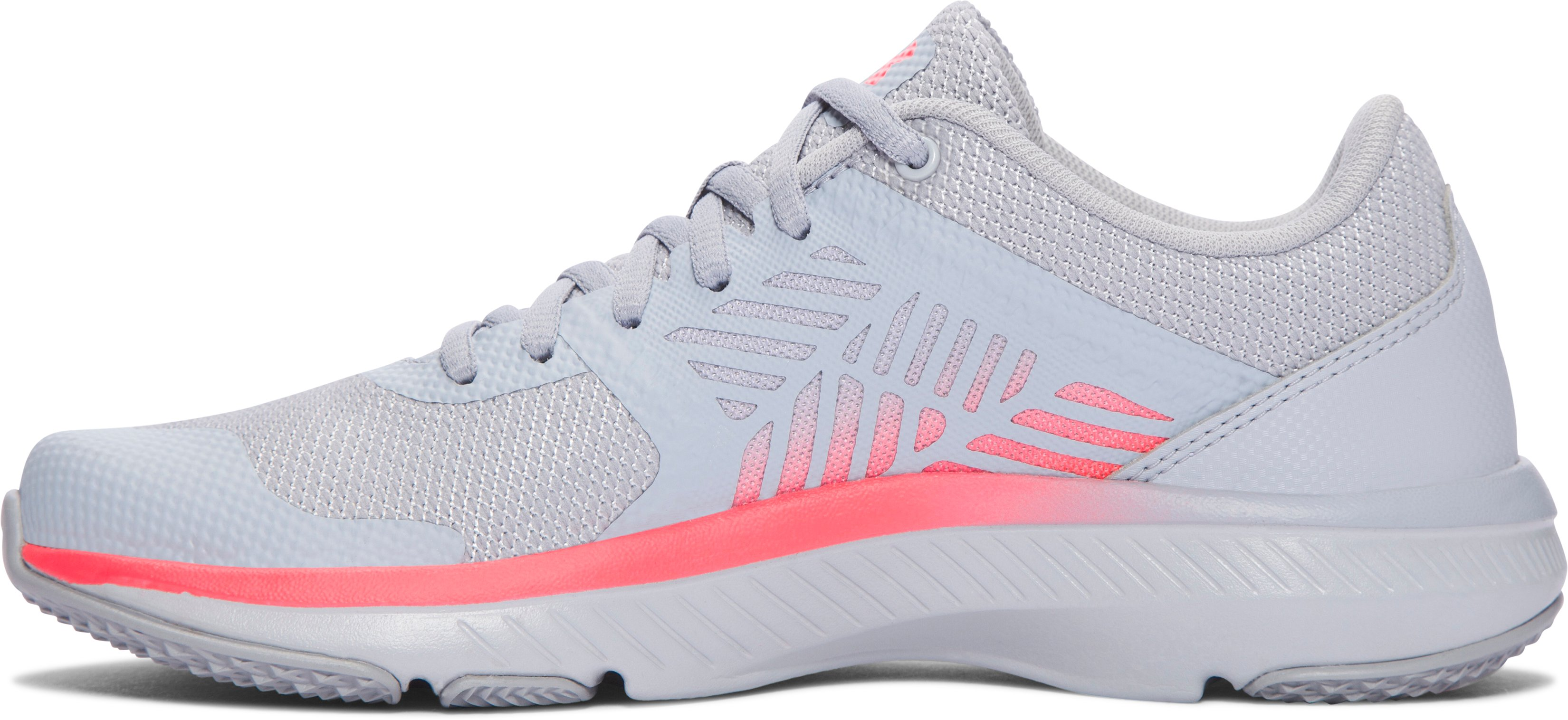 Women's UA Micro G® Press MM Training Shoes, OVERCAST GRAY, undefined