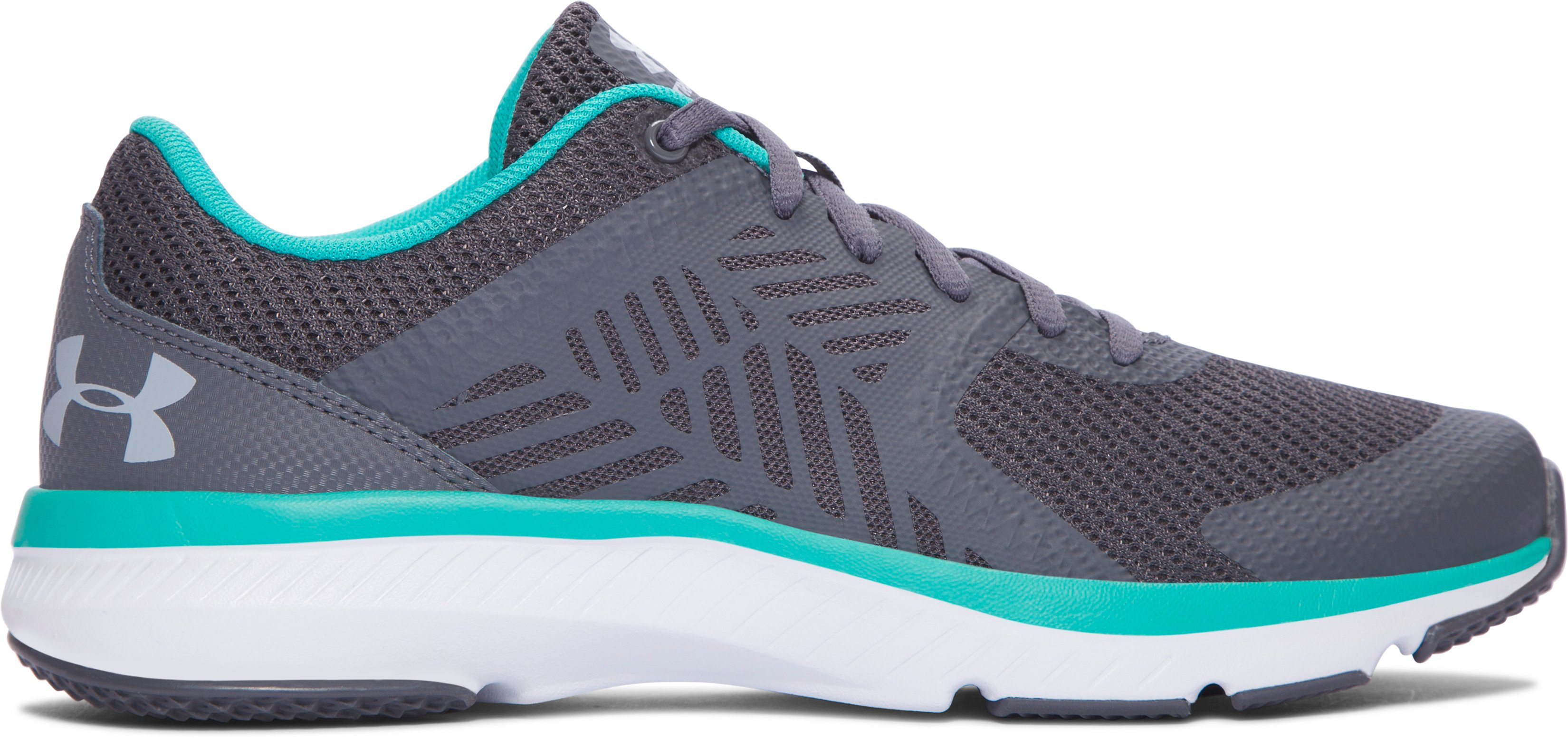 Women's UA Micro G® Press Training Shoes, RHINO GRAY