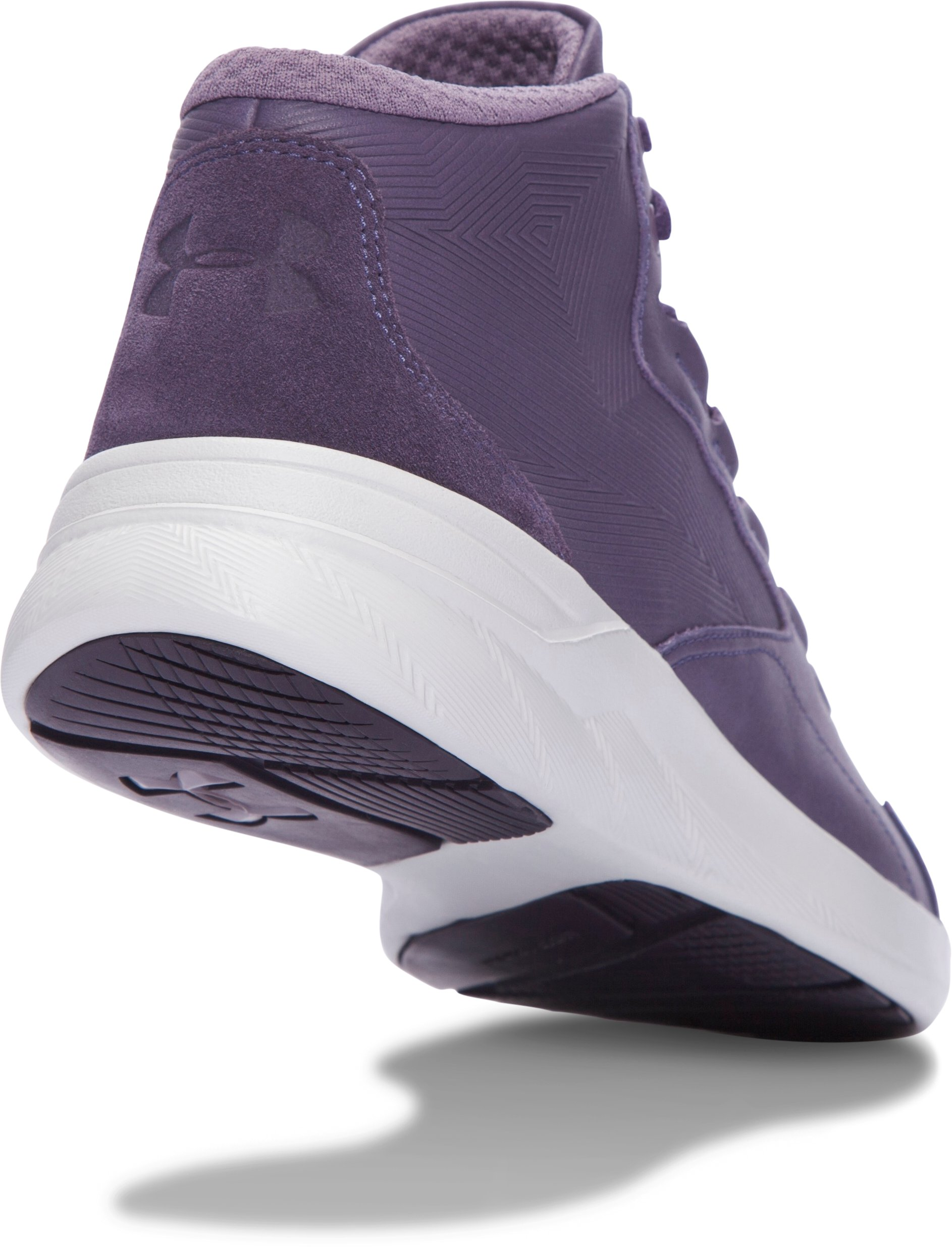 Women's UA Charged Pivot Mid Tinted Neutrals Lifestyle Shoes, FLINT,