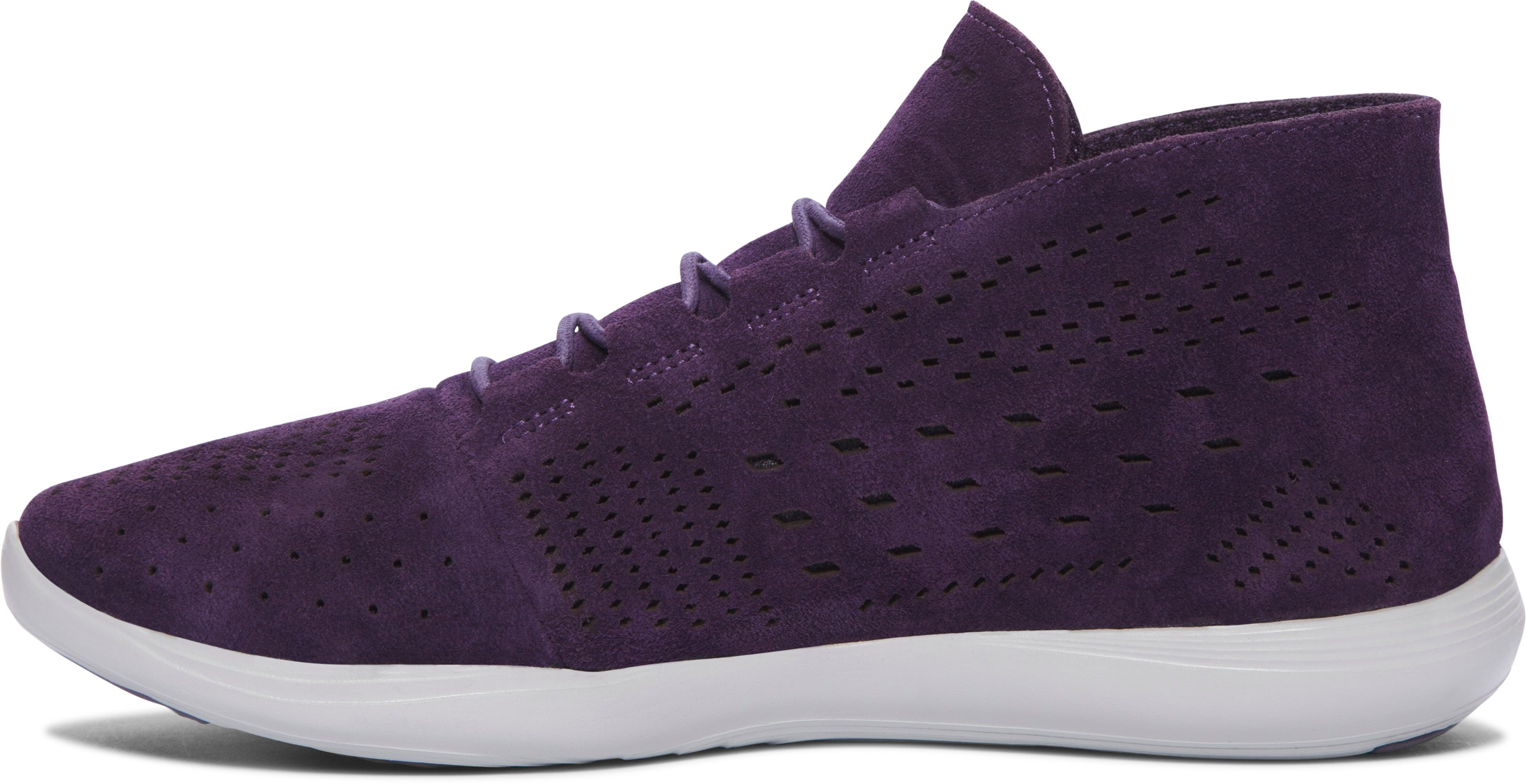 Women's UA Street Precision Mid Tinted Neutrals Shoes, IMPERIAL PURPLE,