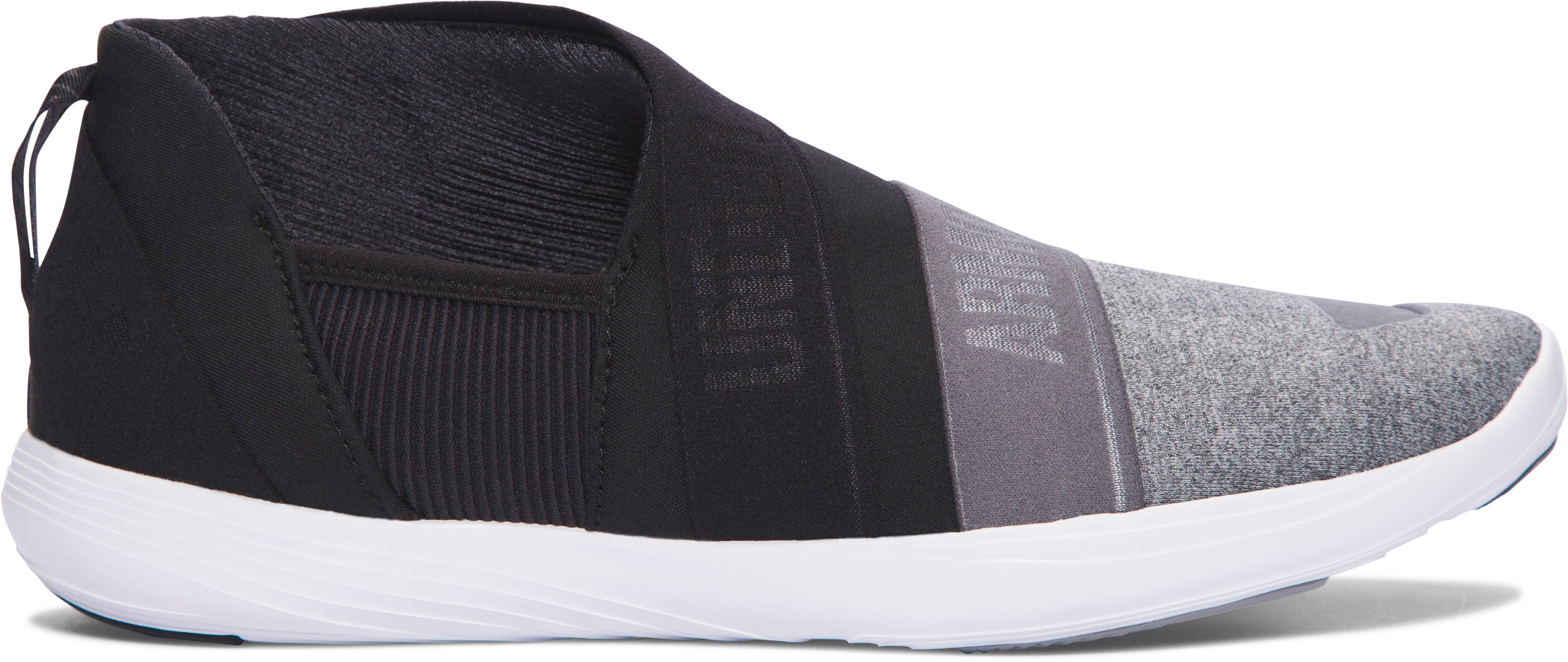 Women's UA Street Precision Slip On Color Blocked Shoes, GRAY WOLF