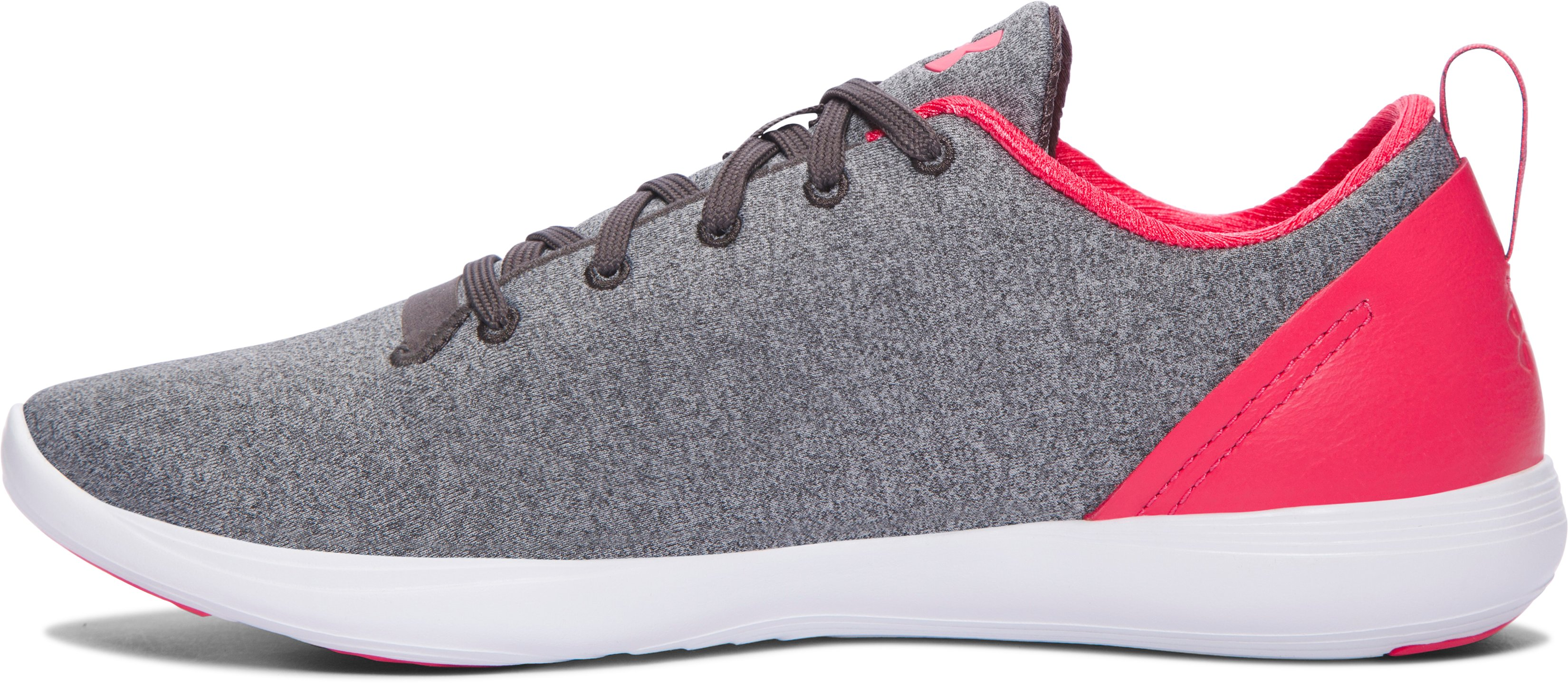 Women's UA Street Precision Sport Low Lifestyle Shoes, Charcoal, undefined