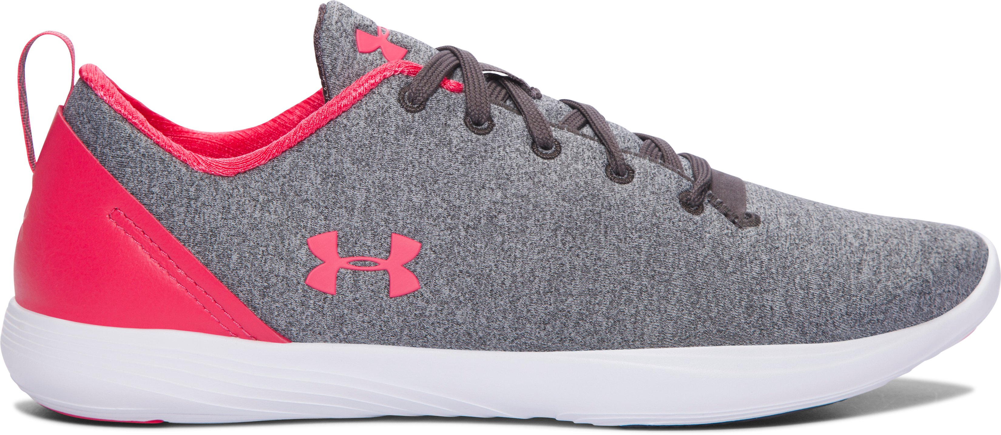 Women's UA Street Precision Sport Low Lifestyle Shoes, Charcoal