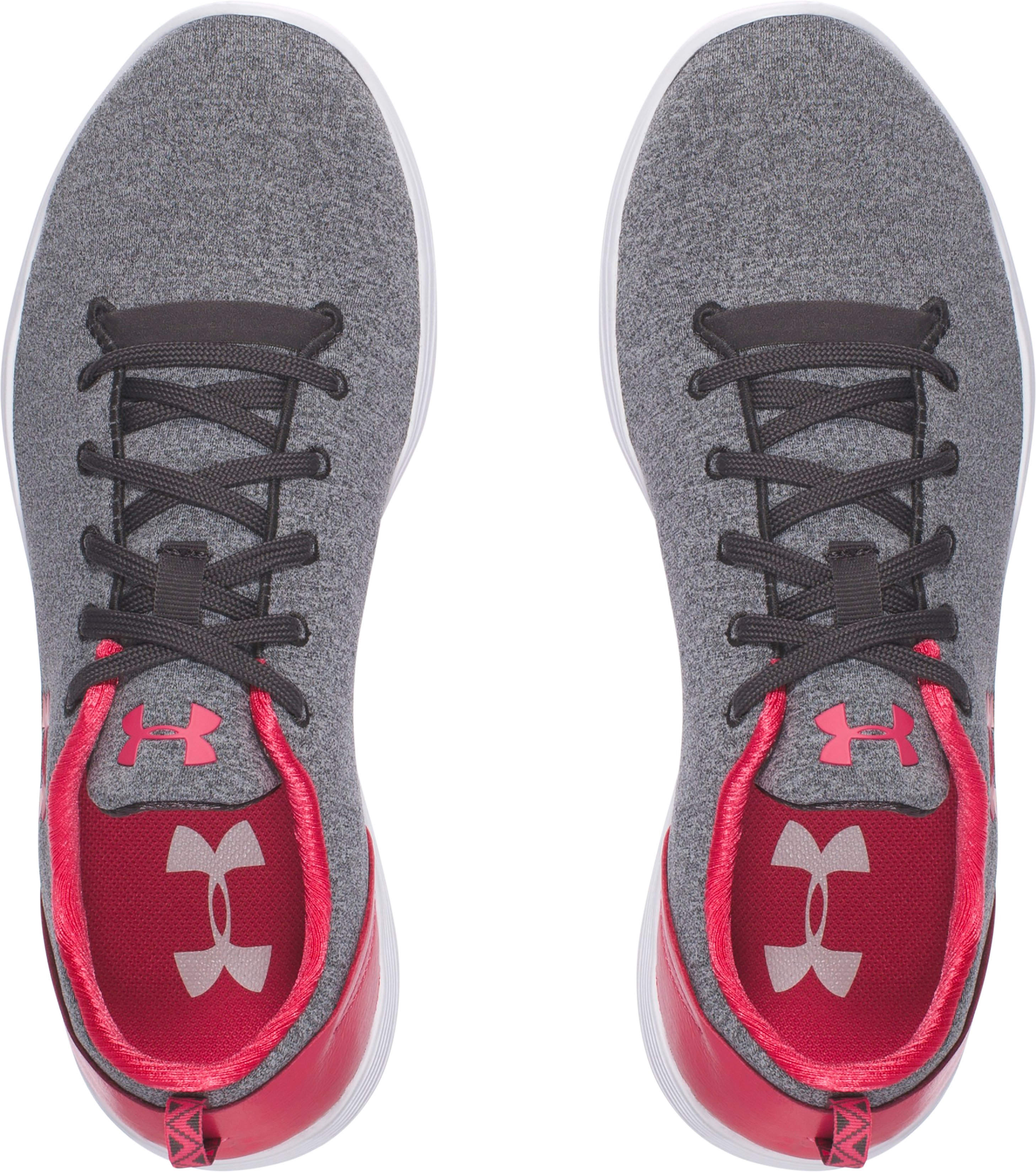 Women's UA Street Precision Sport Low Lifestyle Shoes, Charcoal,