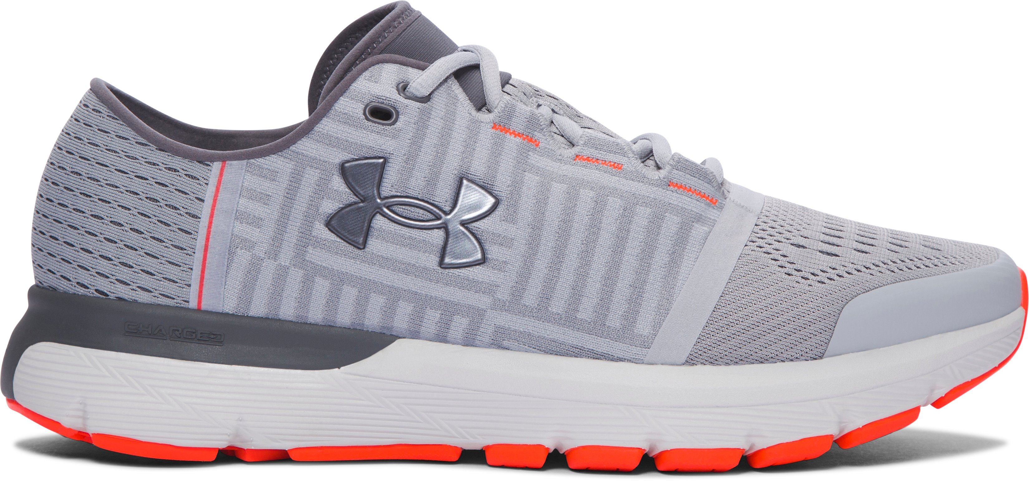 Men's UA SpeedForm® Gemini 3 — 2E Running Shoes, OVERCAST GRAY