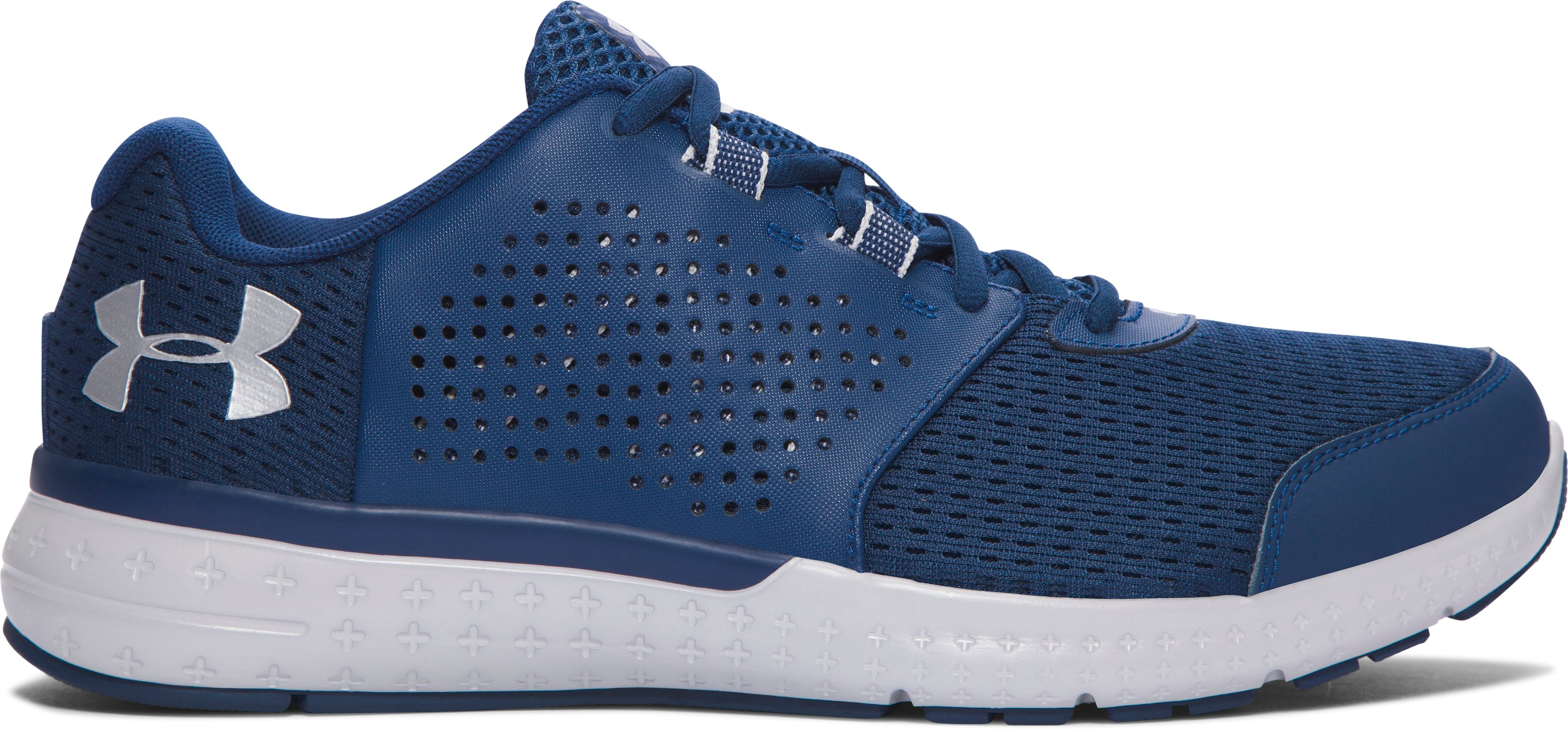 Men's UA Micro G® Fuel – 4E Running Shoes, BLACKOUT NAVY