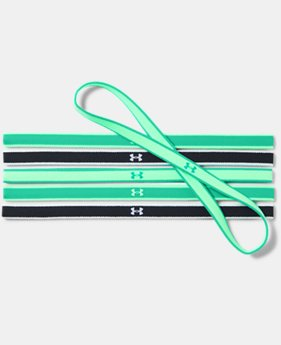 Women's UA Mini Headbands - 6 Pack  3  Colors Available $9.99