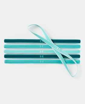Women's UA Mini Headbands - 6 Pack  4  Colors $11.99